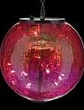 Crackle Glass Solar Light (3-Colors)