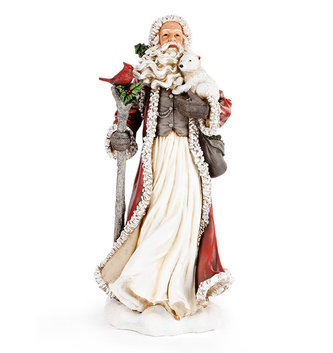 Large Old World Santa w/ Friends