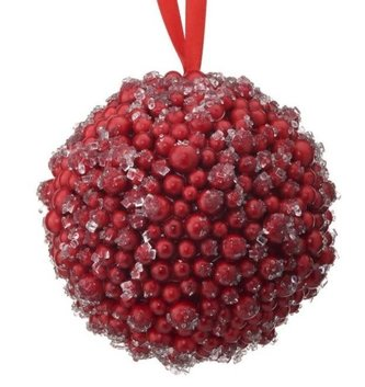 Iced Red Berry Balls