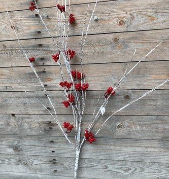 Red Berry Birch Spray