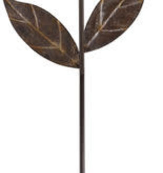 Cut-Out Metal Sunflower Stake