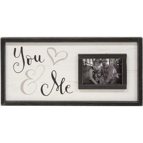 You & Me Picture Frame