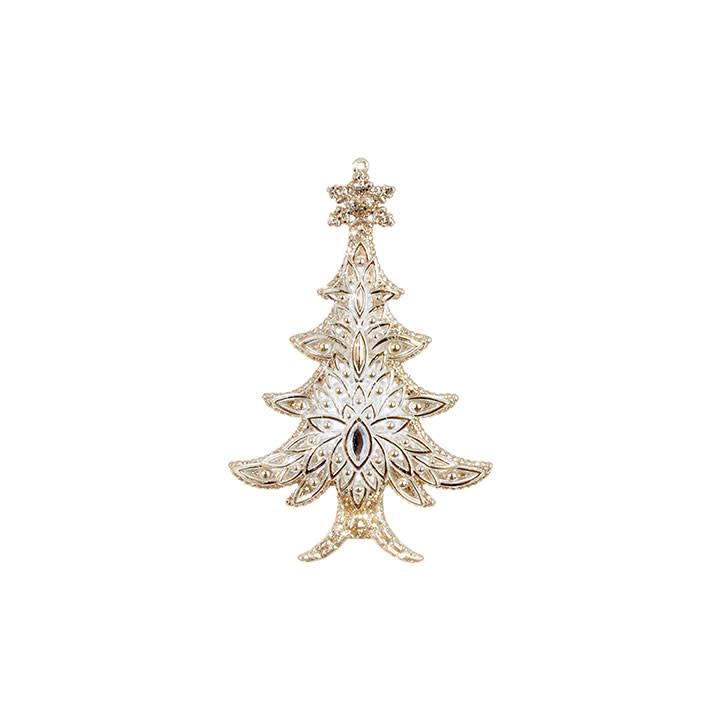 Prism Golden Christmas Tree Ornament