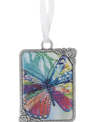 Butterfly Message Charm