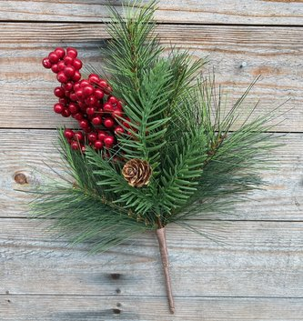 Red Berry w/ Mixed Pine