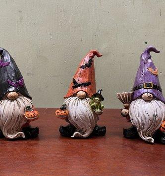 Spooky Halloween Gnome (3-Styles)