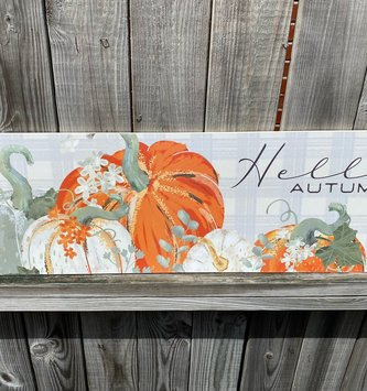 Hello Autumn Pumpkinscape