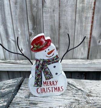 Standing Jolly Snowman (2-Styles)