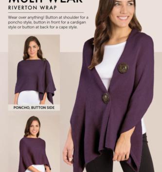 Simply Noelle Riverton Wrap (6-Colors)