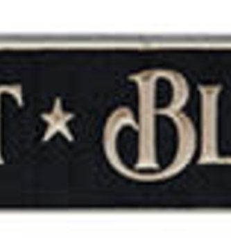 Harvest & Blessings Engraved Block Sign