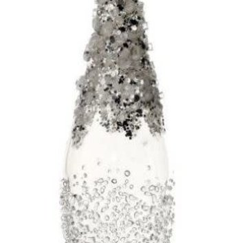 Beaded Finial Icicle Ornament
