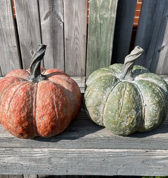 Speckled Pottery Pumpkin (2-Colors)