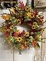 Custom Heart Eucalyptus & Autumn Oak Wreath