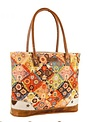 Handcrafted Upcycled Maize Large Handled Tote Bag