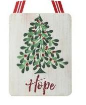 Mistletoe Message Ornament (2-Styles)