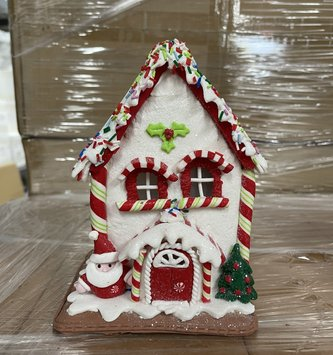 LED Gingerbread Sprinkle House (2-Styles)