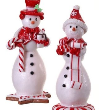 Peppermint Gingerbread Snowman (2-Styles)