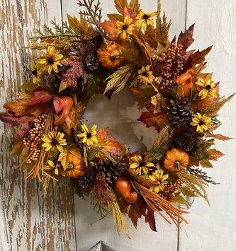 Fall Bounty Wreath
