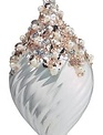 Iridescent Embellished Pearl Ornament (3-Styles)