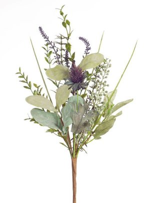 Mixed Herb Thistle Spray