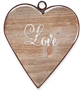 Framed Wooden Heart (6-styles)