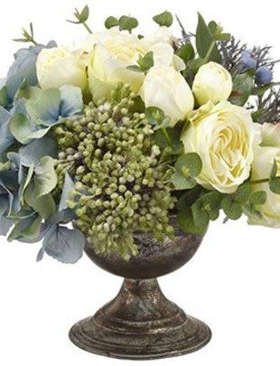 Rose Hydrangea Urn Arrangement