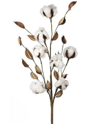 Cotton Spray with Pods
