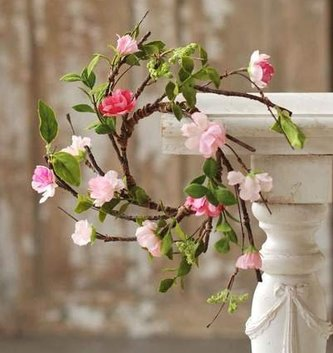 Cherry Blossom Candle Ring