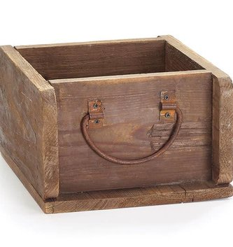 Handled Wooden Drawer