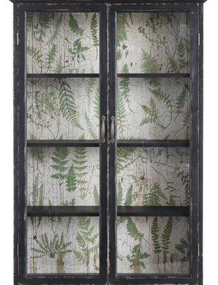 Wooden Fern Cabinet