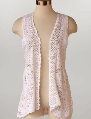 Crochet Vest (3 Colors)