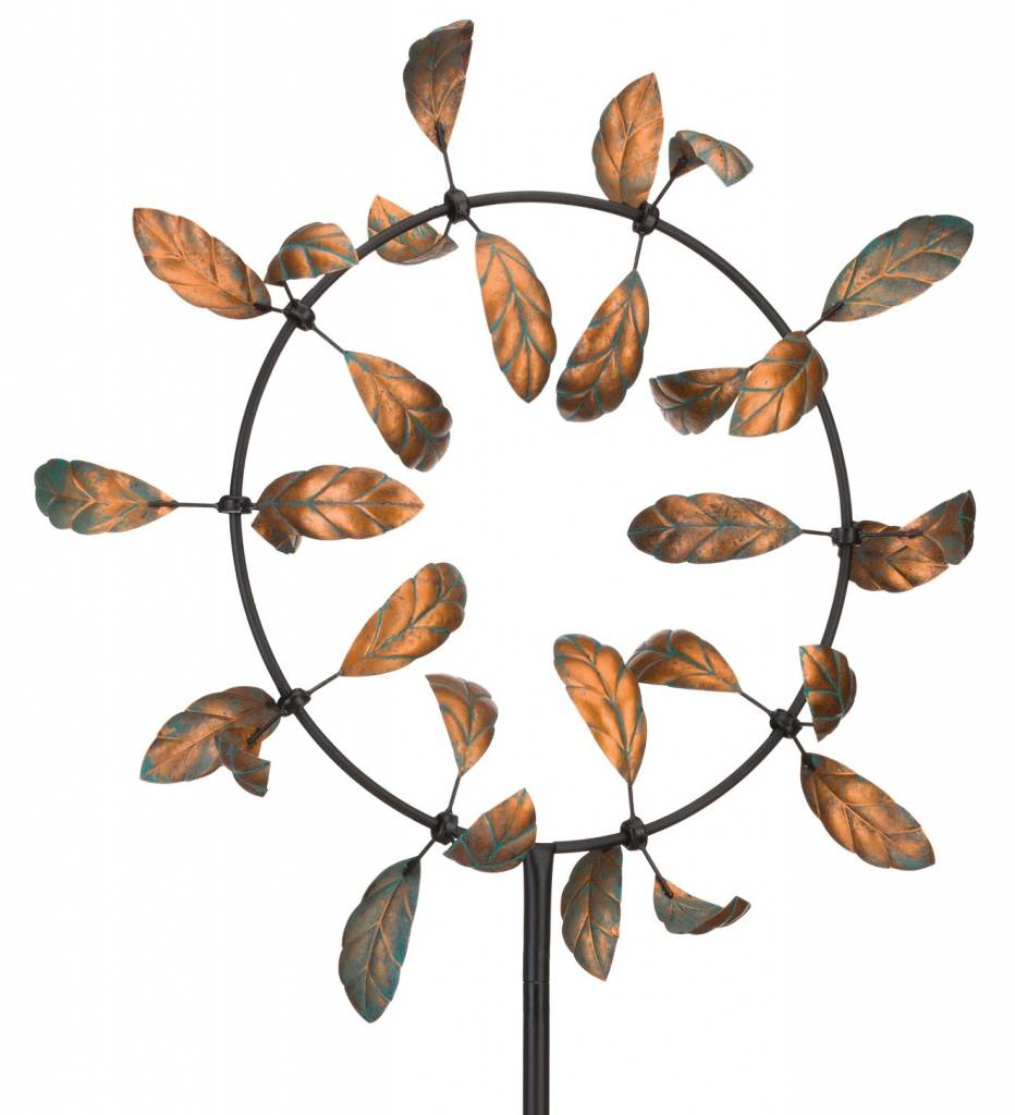 Kinetic Leaf Spinner