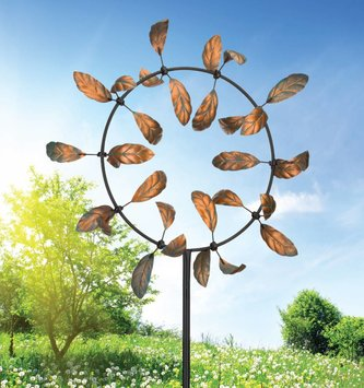 Kinetic Leaf Spinner
