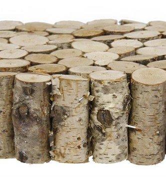 Mini Birch Log Disk Riser