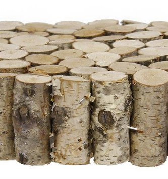 Mini Birch Log Riser