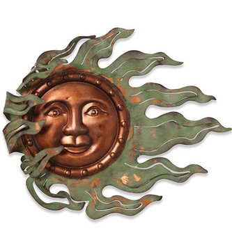 Small Wind Blown Sun Face