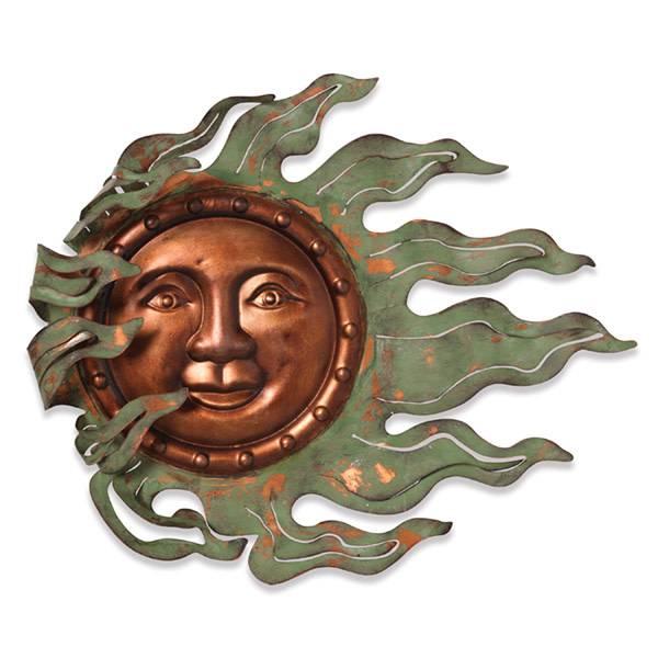Small Wind Blown Sun Face