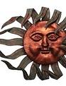 Large Wind Blown Sun Face