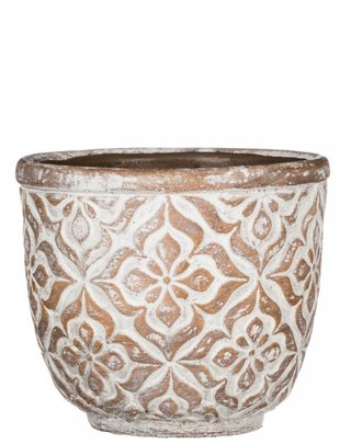 Round Patterned Pot (4 Sizes)