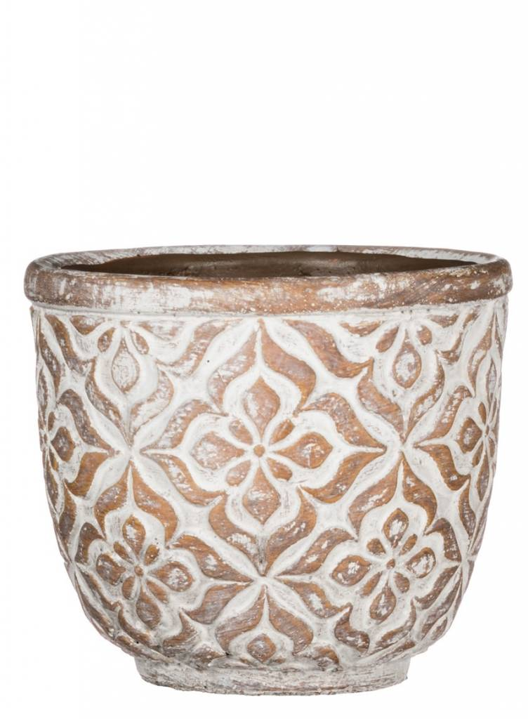 Round Patterned Pot