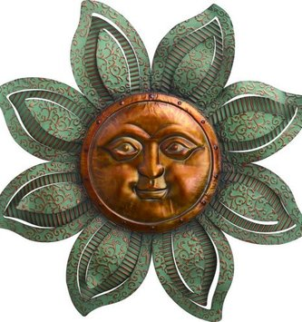 Large Scroll Sun Face