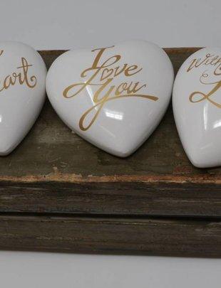 Ceramic Heart (3 Styles)