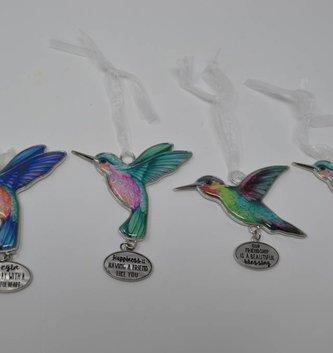 Hummingbird Message Charm (4 Styles)