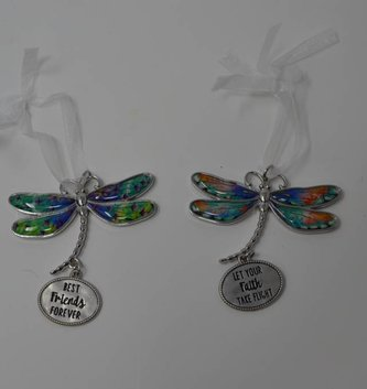 Dragonfly Message Charm (7-Styles)
