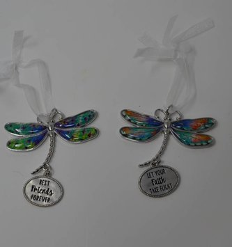 Dragonfly Message Charm (2 Styles)