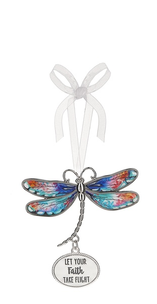 Dragonfly Message Charm