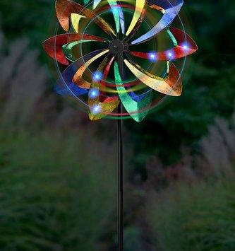 Multicolor LED Kinetic Spinner