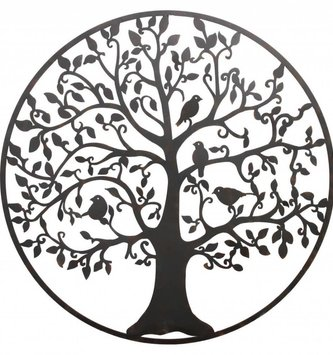 Large Round Metal Giving Tree