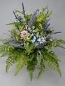 Lilac Custom Grass Vase Arrangement