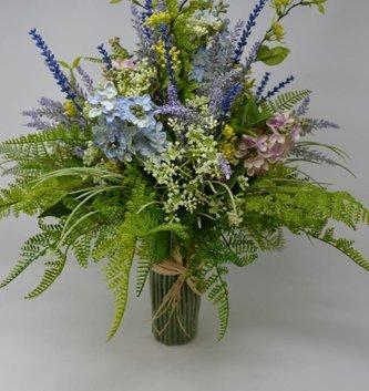 Lilac Custom Grass Vase